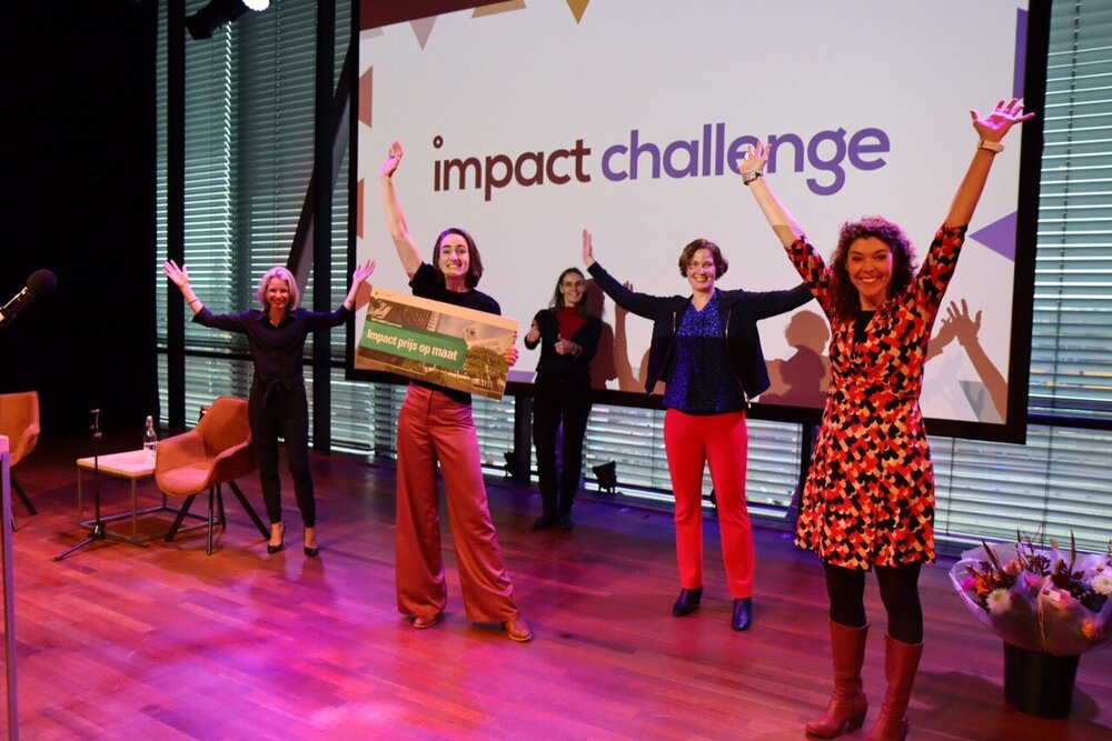 The Hunger Project wint Impact Challenge Award 2020